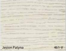 Stolik BANKO 1-osobowy z regulacją pochyłu blatu i wysokości - Jesion patyna 461-V