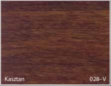 Stolik BANKO 1-osobowy z regulacją pochyłu blatu i wysokości - Kasztan 028-V