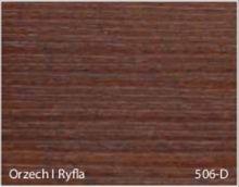 Stolik BANKO 1-osobowy z regulacją pochyłu blatu i wysokości - Orzech I ryfla 506-D