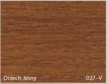 Stolik BANKO 1-osobowy z regulacją pochyłu blatu i wysokości - Orzech jasny 027-V