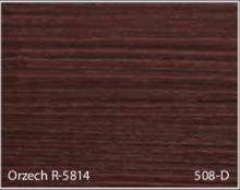 Stolik BANKO 1-osobowy z regulacją pochyłu blatu i wysokości - Orzech R 5814 508-D