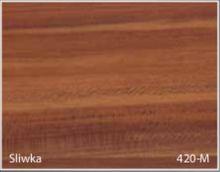 Stolik BANKO 1-osobowy z regulacją pochyłu blatu i wysokości - Śliwka 420-M