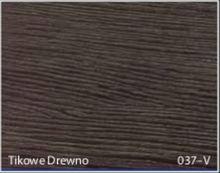 Stolik BANKO 1-osobowy z regulacją pochyłu blatu i wysokości - Tikowe drewno 037-V