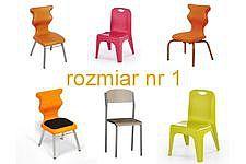 Krzesła szkolne rozmiar 1