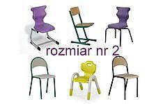 Krzesła szkolne rozmiar 2
