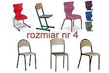 Krzesła szkolne rozmiar 4