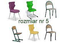 Krzesła szkolne rozmiar 5