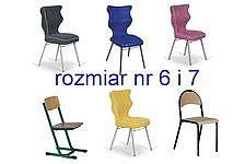 Krzesła szkolne rozmiar 6 i 7