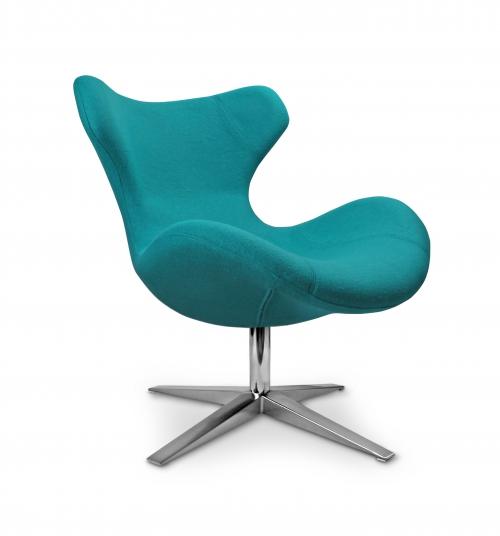 BLAZER fotel wypoczynkowy turkusowy