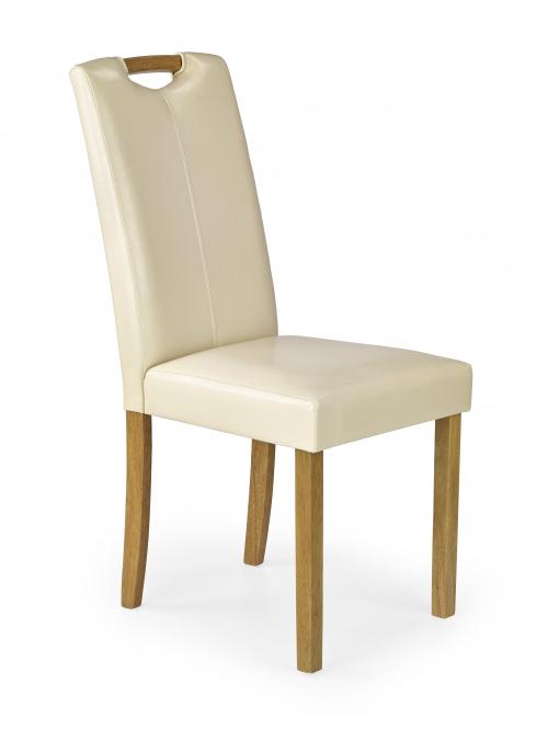 CARO krzesło buk / krem (1p=2szt)