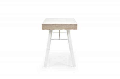 B33 biurko dąb sonoma-biały