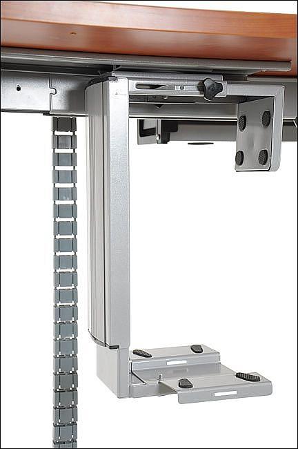Uchwyt na komputer EF-ST-ZA-01 aluminium