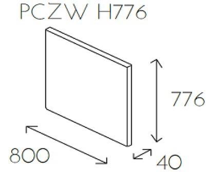Ściana wisząca PL@NET PCZW H776
