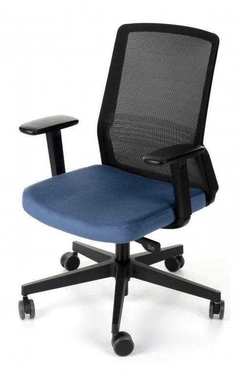 Fotel Biurowy obrotowy FIT czarny