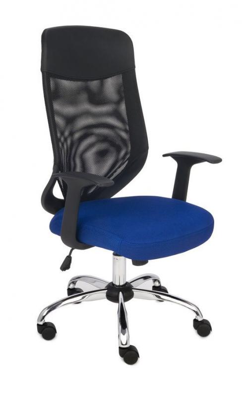 Fotel Biurowy obrotowy OPTIMAL NIEBIESKI