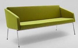 Sofa FIN 3 z podłokietnikami /chrom