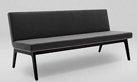 Sofa FIN 3 bez podłokietników - drewno