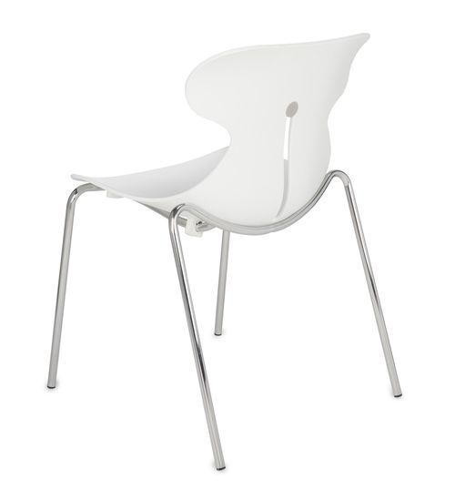 Krzesło konferencyjne MARIQUITA Biały