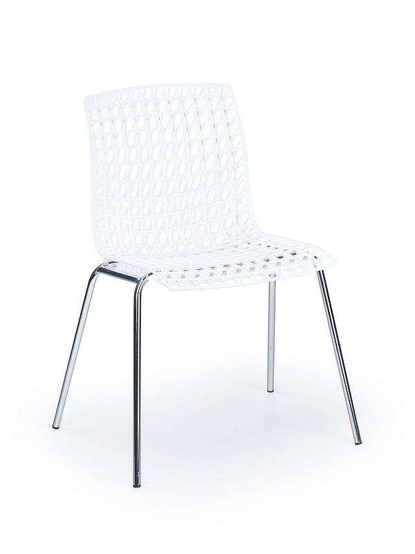 Krzesło z polipropylenu K 160 białe