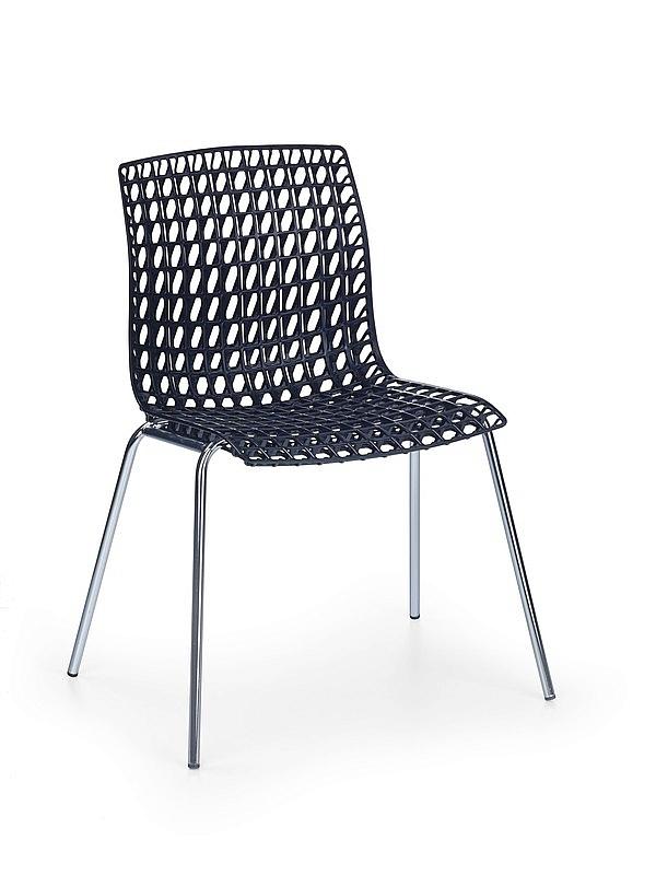 Krzesło z polipropylenu K 160 czarne