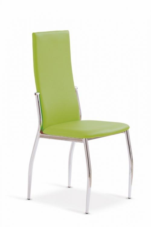K3 krzesło chrom/zielony (2p=4szt)