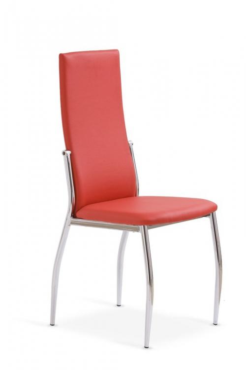 K3 krzesło chrom/czerwony (2p=4szt)