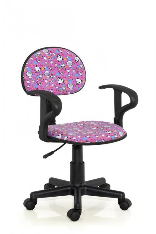 ALFRED fotel młodzieżowy różowy