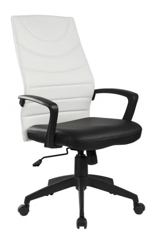 SAMMY fotel pracowniczy czarno-biały