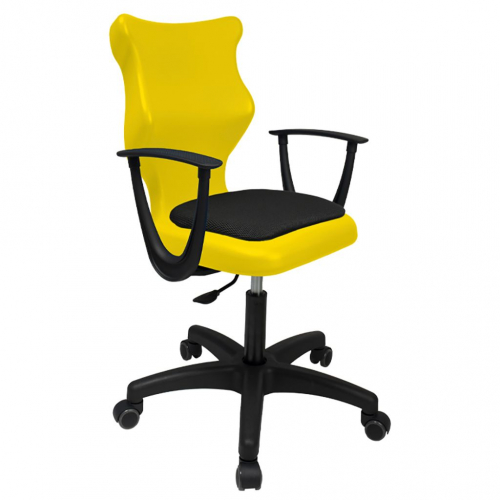 ENTELO Dobre Krzesło obrotowe TWIST soft nr 5 - z podłokietnikami