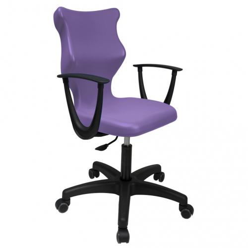 ENTELO Dobre Krzesło obrotowe TWIST naked nr 6 - z podłokietnikami