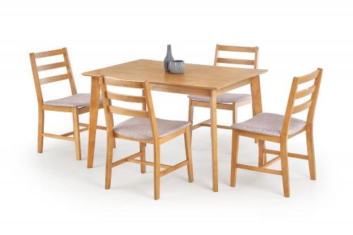 Zestaw: stół CORDOBA + 4 krzesła