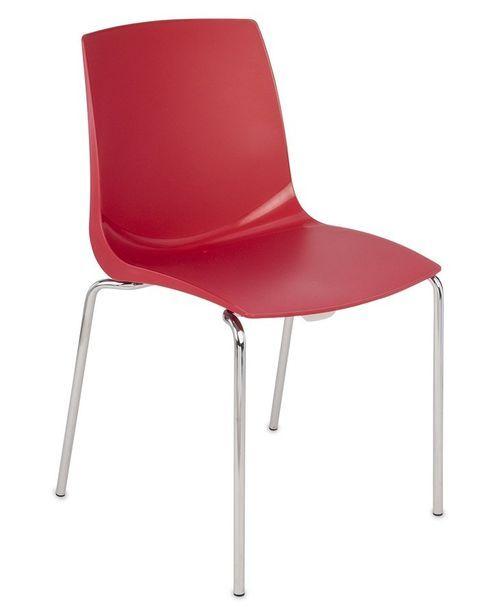 Krzesło konferencyjne ARI czerwone