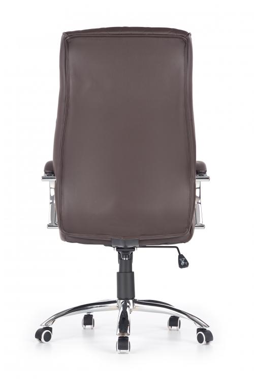 HILTON fotel gabinetowy czekoladowy