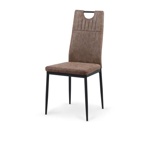 K275 krzesło brązowy MIAMI