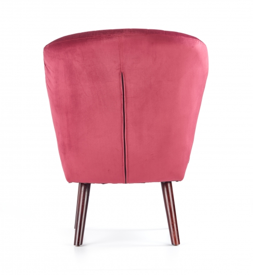 LANISTER fotel wypoczynkowy bordowy