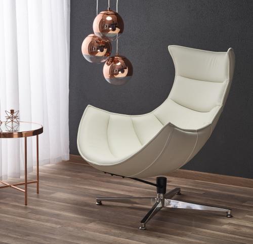 LUXOR fotel wypoczynkowy biały (1p=1szt)