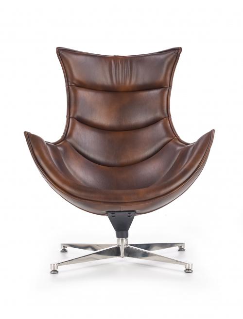 LUXOR fotel wypoczynkowy c. brązowy (1p=1szt)