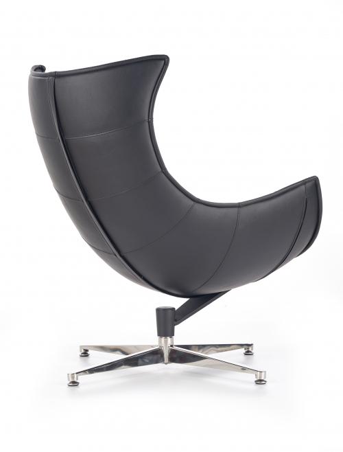 LUXOR fotel wypoczynkowy czarny (1p=1szt)