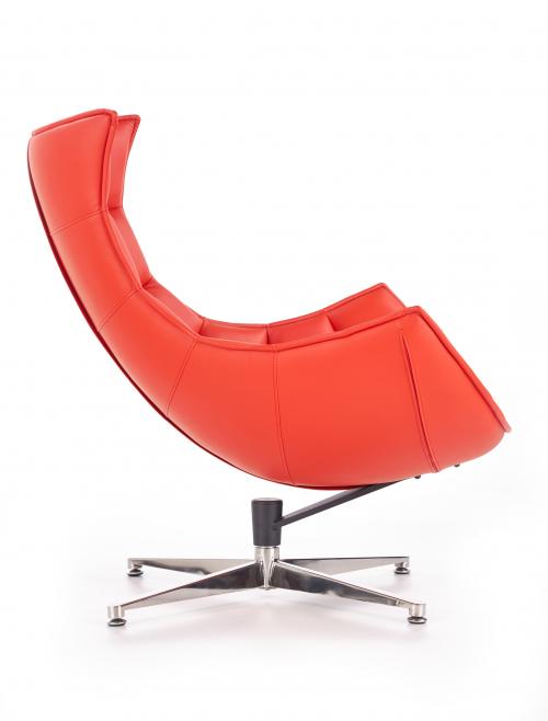 LUXOR fotel wypoczynkowy czerwony (1p=1szt)
