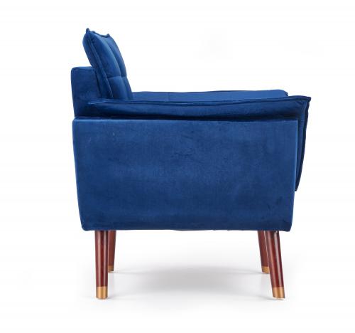 REZZO fotel wypoczynkowy granatowy