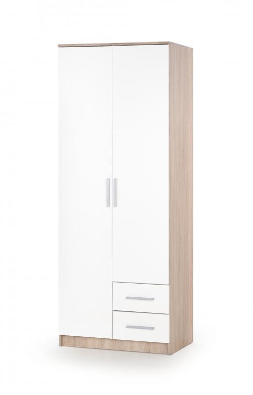 LIMA S-2 szafa dąb sonoma / biały
