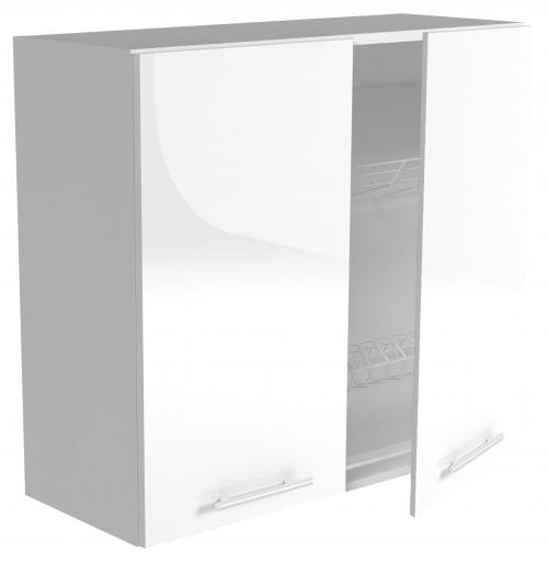 VENTO GC-80/72 szafka górna z ociekaczem, front: biały