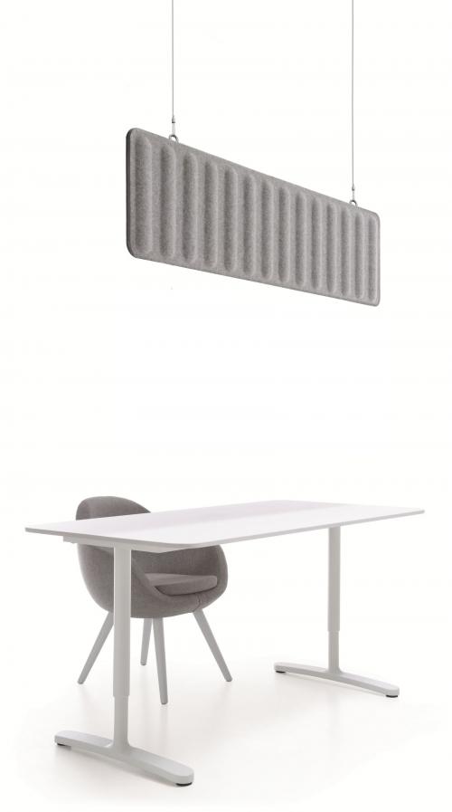 Sufitowy panel akustyczny GRC-4/GRCS4