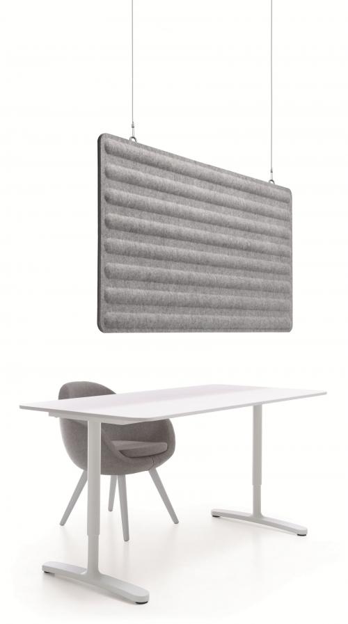 Sufitowy panel akustyczny GRC-L-8/GRCS-L8
