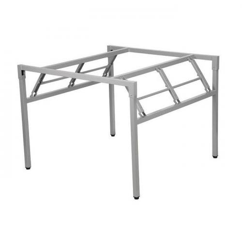 Stelaż składany do stołu i biurka EF-24/A-K - aluminium kwadrat