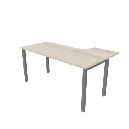 Biurko narożne STAND BS24  prawe lub lewe o wym. 160x100/70x76h cm