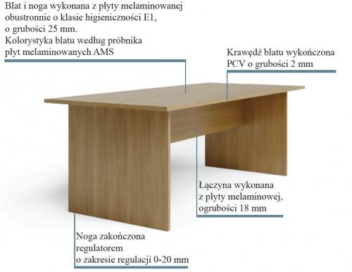 Stół konferencyjny SW5
