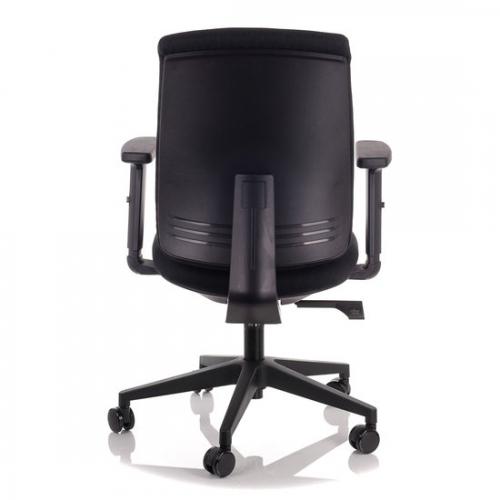 Fotel Biurowy Obrotowy  EF-ZN-605B-30 czarny