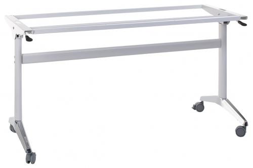 Stelaż składany do stołu EF-NY-A383 biały/chrom długość 155 cm