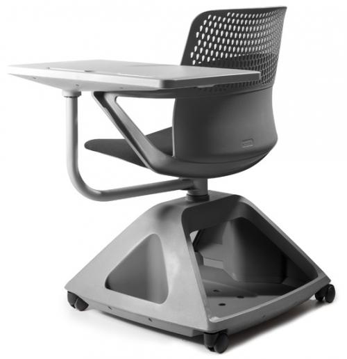 Krzesło Studenckie z obrotowym pulpitem - ROVER 2